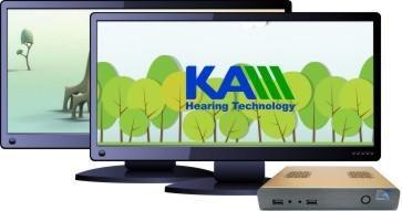 KAM視覺强化輔助聽力測試系統
